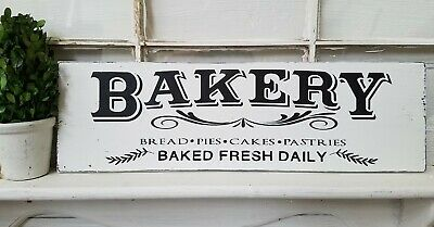 Bakery sign, rustic wood sign, farmhouse style sign, fixer upper inspired, 24""