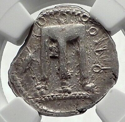 KROTON in BRUTTIUM Ancient 480BC Silver Greek Stater Nomos Coin NGC i77342