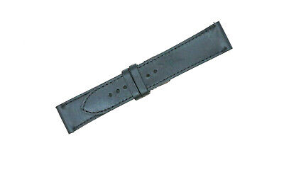 Vintage Distressed Bridle Genuine Leather Flat Sewn Watch Strap Band MADE IN USA