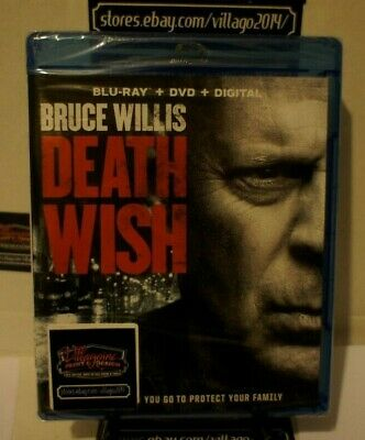 DEATH WISH (NEW Blu-ray/DVD) FREE SHIPPING!!