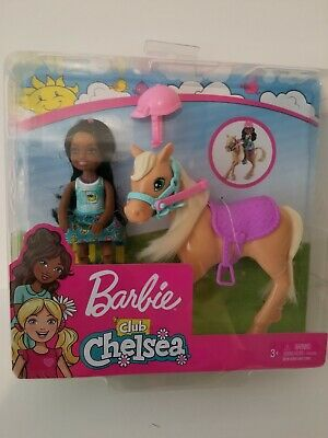 Ages 3+ CHELSEA DOLL /& PONY BARBIE CLUB CHELSEA