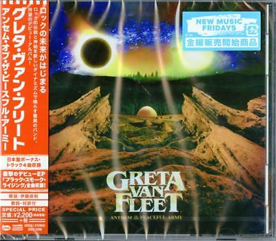 Greta Van Fleet-Anthem Of The Peaceful Army-Japan Cd Bonus Track E78