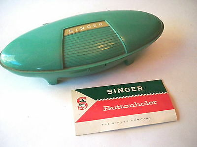 Vintage Singer Sewing Machine Buttonholes Button Hole Kit Attachment Accessory