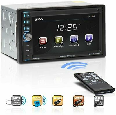 BOSS Audio BV9370B Car Stereo DVD Player ? Double Din, Bluetooth Audio and