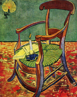 Dream-art Oil painting Vincent Van Gogh - Paul Gaugain's Arm Chair hand painted