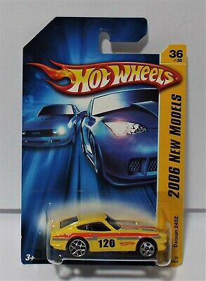 Hot Wheels 2006 New Models Datsun 240z Error Mixed All Large Alw
