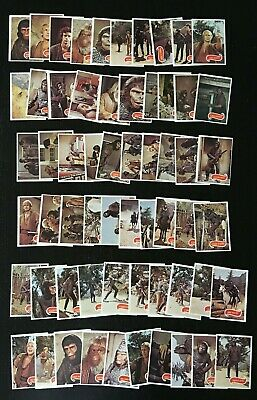1975 Topps PLANET Of The APES TV Puzzle Back Single Card or Cre8 UR Own Lot ExNm
