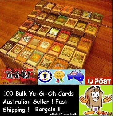 YuGiOh! 100 RARE ONLY Bulk Cards Pack BEST GENUINE KONAMI AUSTRALIA