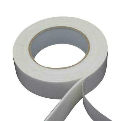 10m Strong Adhesive Double Sided White Foam Sticky Tape For Car Trim Home Fixing