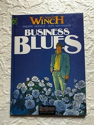 LARGO WINCH Business Blues  T4 RE 1998.