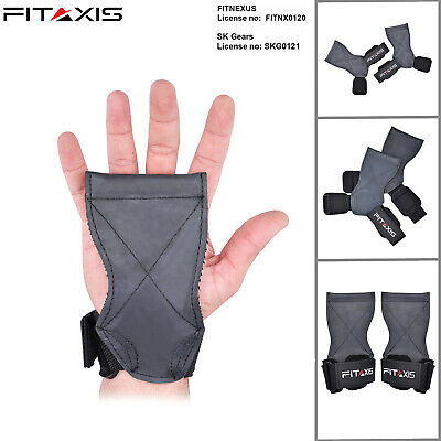 FITAXIS Crossfit Gymnastic Weight Lifting Palm Hand Grip Lifting palm guard New.