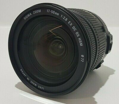 Sigma Zoom EX 17-50mm F/2.8 DC OS HSM Optical Stabilised Camera Lens for Nikon