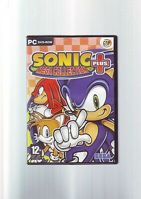 Sonic Mega Collection Plus + / 20 Sonic The Hedgehog Games - Pc Game - Complete