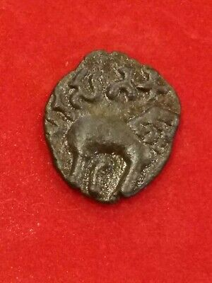 ANCIENT INDIA Bronze Coin of  Satakarni Satavahana Kings BC 271 - 220 AD. - N9
