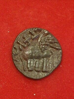 ANCIENT INDIA Bronze Coin of  Satakarni Satavahana Kings BC 271 - 220 AD. - N19