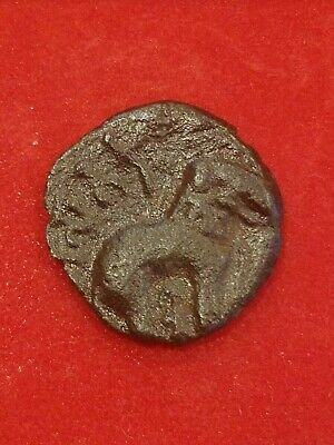 ANCIENT INDIA Bronze Coin of  Satakarni Satavahana Kings BC 271 - 220 AD. - N12
