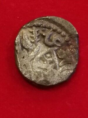 EX RARE Razia Sultan, Delhi Sultans Slave Dynasty Billion Jital AD 1236-1240. J1
