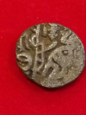 EX RARE Razia Sultan, Delhi Sultans Slave Dynasty Billion Jital AD 1236-1240. C1