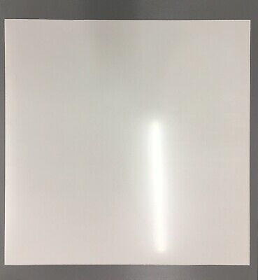 Easy Clean Washable Suspended Ceiling Tiles Covers White 595mm x 595mm x 1.5mm