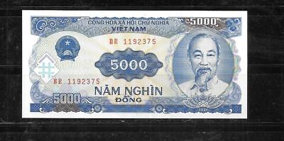 VIETNAM #100a 1987 MINT-CRISP OLD 200 DONG BANKNOTE NOTE PAPER MONEY CURRENCY