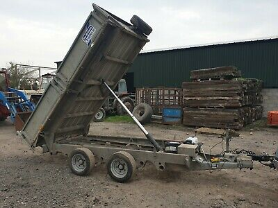 ifor williams trailer 14ft by 6ft 6 inchs 3.5 ton
