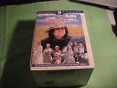 """Little House On The Prairie - 5 Pack Collector Series - """"VHS"""" Tapes - 1997 (13)"""