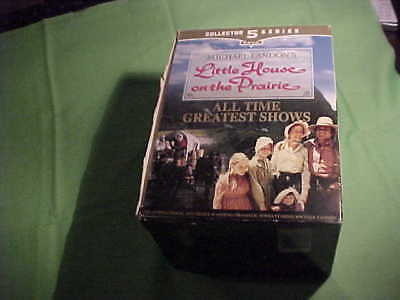 """Little House On The Prairie - 5 Pack Collector Series - """"VHS"""" Tapes - 1999 (13)"""