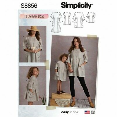 FP Simplicity-8695-A Free UK P/&P Simplicity Sewing Pattern 8695