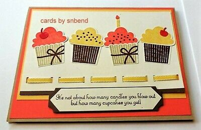 Stampin up Cupcake Builder Punch~Retired~Birthday~Candle