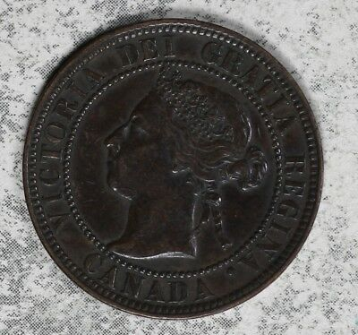 Nice Extra Fine Condition 1900 Canada Large Cent!!  Better Date Coin!!