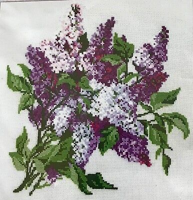 RIOLIS Bunch Of Lilacs Counted Cross Stitch Kit 7.75X7.75 15 Count