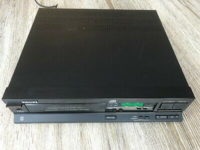 Philips CD371 CD-Player Compact Disc Player, With new NSM4202A LED Display.