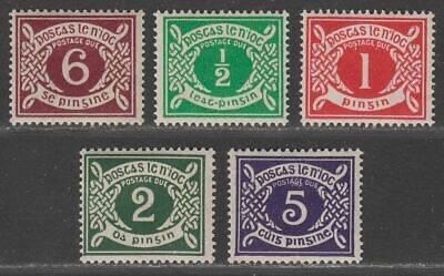 Ireland 1925-43 Postage Due Selection to 6d Mint