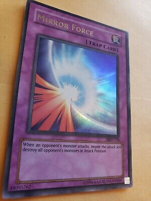 MRD-138 1st Edition Moderately Played Ultra Rare YuGiOh Mirror Force