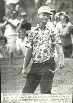 1975 Press Photo Larry Ziegler during final round of Greater Jacksonville Open