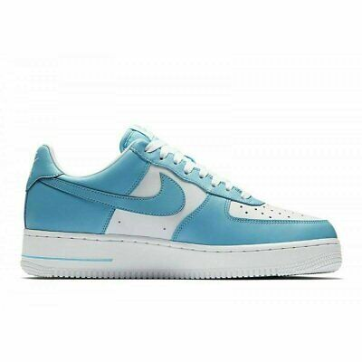 ORIGINAL MEN'S NIKE Air Force 1 Low Blue White Trainers