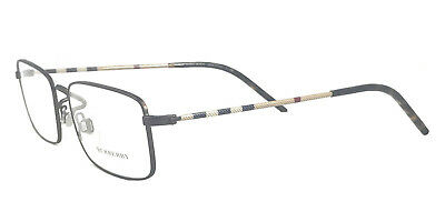 ceee7bc768da Burberry Eyeglasses RX 55mm B1274 Optical Frame Authentic Unisex Bronze 1012