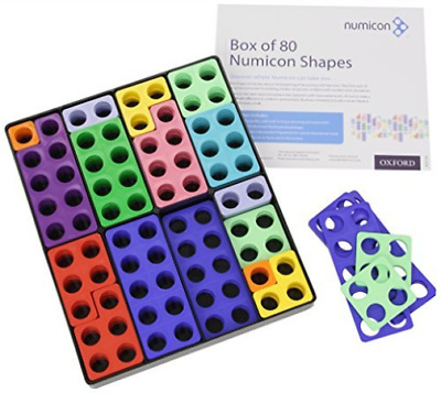 Numicon: Box Of 80 Numicon Shapes TOY NEW