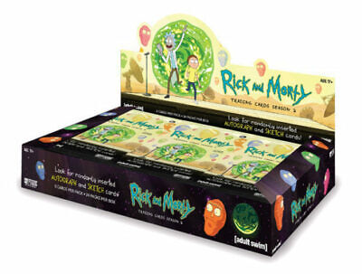 Cryptozoic Rick and Morty Season 2 Trading Cards Hobby Box New/Sealed
