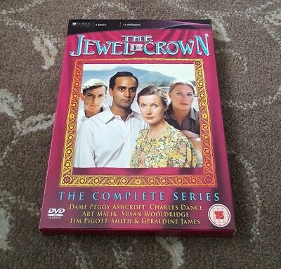 The Jewel In The Crown Complete Series Dvd Itv Drama