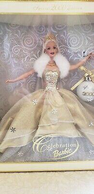 Collector Special Edition 2000 Holiday Barbie Doll by Mattel, blonde, NIB