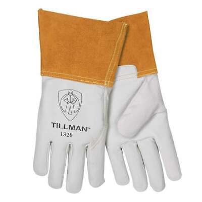 "Tillman 1328 Top Grain Goatskin TIG Welding Gloves 4"" Cuff, Small"