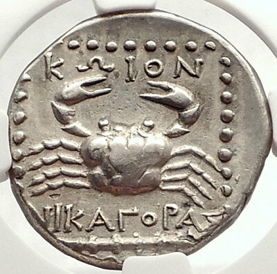 KOS Island off CARIA 285BC  Ancient Silver Greek TETRADRACHM Coin NGC i69570