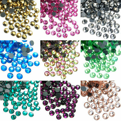 1440pcs Top Quality DMC Czech Crystal Rhinestones Hot fix Flatback