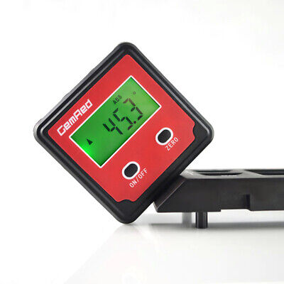 Portable GemRed  Backlight Digital Level Box Protractor Angle Finder Gauge P5L4