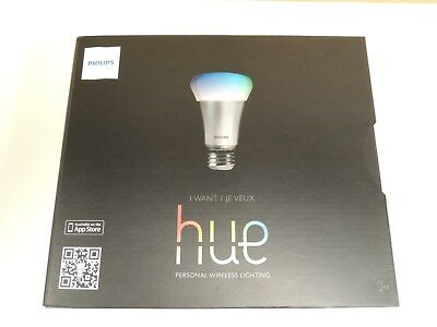 PHILIPS HUE 426353, Starter Kit, 3 Bulbs and a Bridge, Works with Amazon  Alexa!