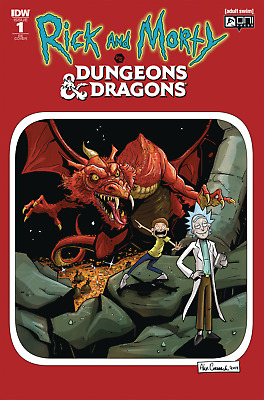 Rick and Morty vs. Dungeons and Dragons #1 Director's cut edition (2018 IDW)