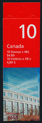 Canada 1991a Booklet BK251Aiii MNH Flag over Post Office HQ, Vancouver 2010 o/p