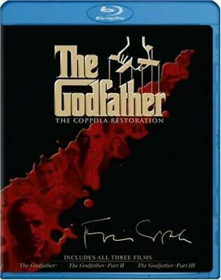 The Godfather - Coppola Restoration Giftset (The / Part II / III) [Blu-ray]