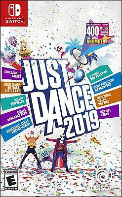 Just Dance 2019 Nintendo Switch Standard Edition Brand New Sealed